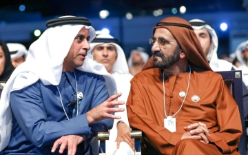 الصورة: الصورة: فكر محمد بن راشد محور كلمات قادة ومتحدثين في قمة الحكومات