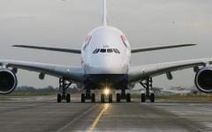 丕賱氐賵乇丞: 亘丕賱賮賷丿賷賵.. 廿賷乇亘丕氐 鬲購賵賯賮 丕賳鬲丕噩 兀賷賯賵賳鬲賴丕 A380