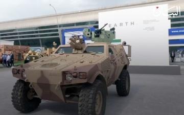 الصورة: سيارة عسكرية يتم التحكم فيها عن بعد شاهدوا كيف تعمل
