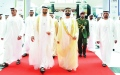 الصورة: الصورة: محمد بن راشد ومحمد بن زايد: الإمارات ترتقي بصناعة عسكرية وطنية تنافس عالمياً
