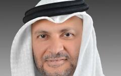 الصورة: قرقاش: قطر دولة القضية اليتيمة تستمر بالتخبط في أزمتها