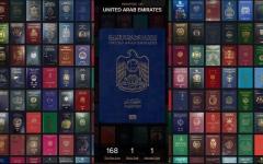 الصورة: «باسبورت إندكس»: 30 دولة أمام الجواز الإماراتي لدخول جميع دول العالم