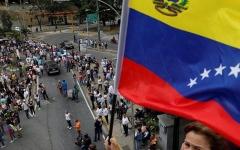 """الصورة: فنزويلا في حالة """"تأهب"""" وتغلق حدودها مع كوراساو أمام المساعدات"""