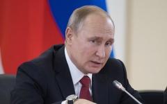 الصورة: بوتين يتحدى: سننشر صواريخ تطال الولايات المتحدة