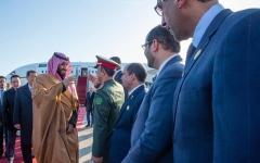 الصورة: ولي العهد السعودي يصل إلى بكين في زيارة رسمية