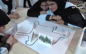 الصورة: طلاب الإمارات على طريق الابتكار