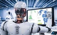 الصورة: الصورة: «الروبوتات» دقة تشخيصية وعلاجية عالية تميّز «أطباء المستقبل»