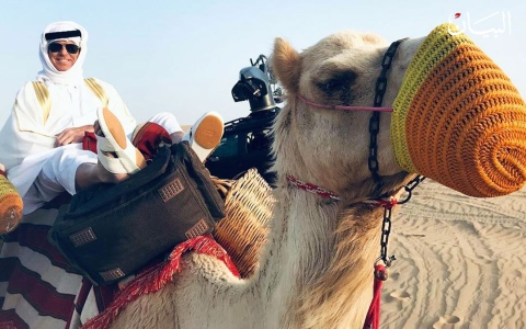 الصورة: ماذا يفعل جيمس بوند في الإمارات؟