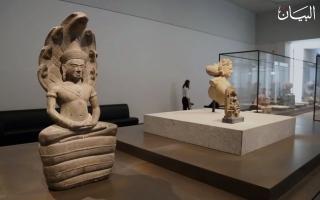 """الصورة: """"متحف اللوفر أبوظبي"""" مقتنيات دينية عمرها آلاف السنين"""