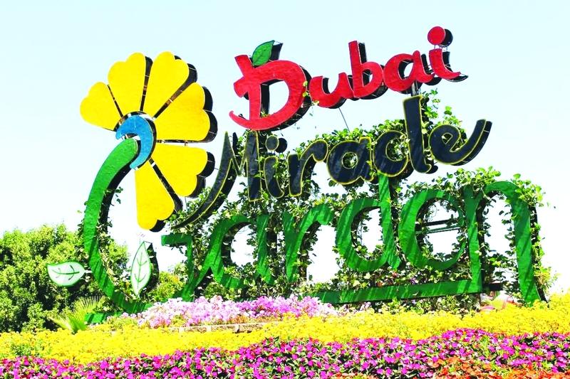 دبي ميراكل ثاني أجمل حديقة زهور في العالم الاقتصادي الصفقة