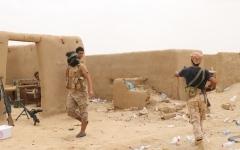 الصورة: الحوثي يرتكب مجازر جماعية في كشر