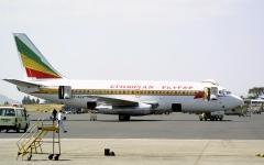 الصورة: تحطم طائرة إثيوبية على متنها 157 راكباً