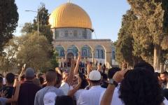 الصورة: الاحتلال يعيد فتح أبواب الأقصى ويعتقل 20 فلسطينيا بالضفة