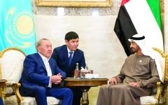 الصورة: محمد بن زايد: الإمارات بقيادة خليفة تحرص  على مد جسور التواصل والتعاون مع دول العالم