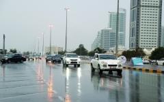 الصورة: توقع استمرار أمطار الخير ليومين