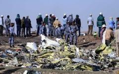 الصورة: الكشف عن أسباب سقوط الطائرة الإثيوبية المنكوبة