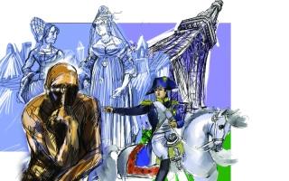 الصورة: الصورة: «التماثيل الفرنسية».. رحلة الذاكرة لأبطال منسيين