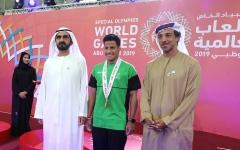 الصورة: الصورة: محمد بن راشد يزور فعاليات الأولمبياد الخاص  أبوظبي 2019