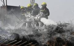 الصورة: الصورة: انفجار يهز مصنع كيمياويات في شرق الصين