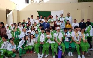 سفارة الجزائر تكرّم وفد بلادها المشارك
