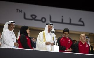 محمد بن زايد: «الأولمبياد الخاص» بطولة رسّخت قيم التعاون والتضامن الإنساني
