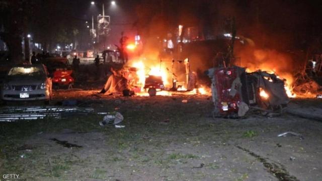 انفجار كبير يهز وسط العاصمة الصومالية مقديشو