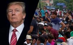 الصورة: الصورة: قافلة جديدة من 1500 مهاجر تنطلق من جنوب المكسيك