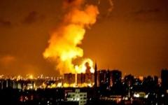الصورة: الصورة: سريان وقف إطلاق النار في غزة بوساطة مصرية