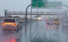 الصورة: الصورة: أمطار الجمعة والسبت وانخفاض درجات الحرارة الثلاثاء