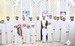 الصورة: الصورة: محمد بن راشد يشارك آل المزروعي وآل المهيري أفراحهم في دبي