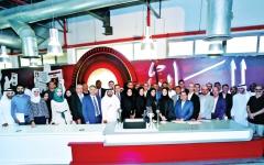 الصورة: الصورة: «البيان» تحتفي بفوزها بجائزة الصحافة العربية وتكرّم المتميّزين