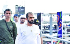 الصورة: الصورة: محمد بن راشـد: الرياضة تخلق روح المنافسة والعمل بروح الفريق الواحد