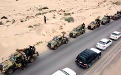 الصورة: الصورة: الجيش الليبي يدخل طرابلس ويسيطر على مطارها
