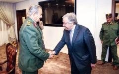 الصورة: الصورة: الجيش الليبي يتقدم في طرابلس