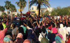 الصورة: الصورة: مقتل 6 في مظاهرات السبت بالسودان