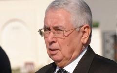 الصورة: الصورة: أول تصريح لرئيس الجزائر المؤقت