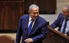 الصورة: الصورة: نتائج جزئية: نتنياهو بصدد إعلان الفوز في الانتخابات الإسرائيلية