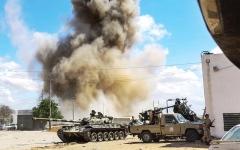 الصورة: الصورة: الجيش الليبي يحاصر طرابلس من كافة المحاور