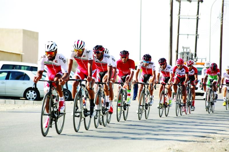 الصورة : الدراجات تواصل الإنجازات  |  البيان