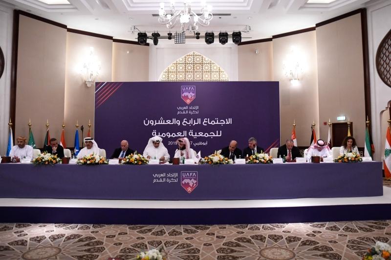 Image result for الاتحاد العربي لكرة القدم   2019