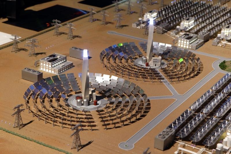 الصورة : Ⅶ مجمع محمد بن راشد للطاقة الشمسية أكبر مشروع للطاقة الشمسية في موقع واحد على مستوى العالم | أرشيفية