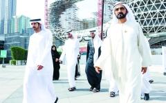 الصورة: الصورة: حمدان بن محمد: رؤية القيادة جعلت الإمارات نموذجاً للعيش والعمل