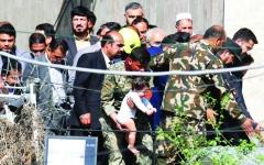 الصورة: الصورة: إنقاذ 2800 مدني من هجوم إرهابي في كابول