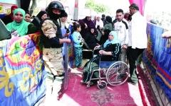 الصورة: الصورة: إقبال كثيف على استفتاء مصر