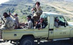 الصورة: الصورة: الشرعية تدفع بتعزيزات عسكرية إلى إب