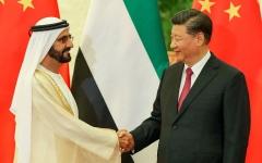 الصورة: الصورة: محمد بن راشد يبحث مع الرئيس الصيني آفاق التعاون المشترك وسبل تعزيز الشراكة الاقتصادية