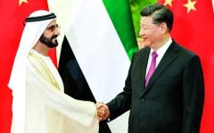 الصورة: الصورة: محمد بن راشد: الشراكة مع الصين تدعم توجّهات الإمارات نحو المستقبل