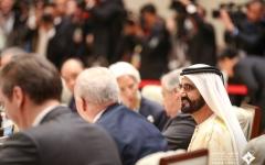 الصورة: الصورة: محمد بن راشد يترأّس وفد الدولة في اجتماعات قادة ورؤساء الدول في بيكين