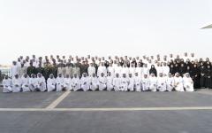 الصورة: الصورة: محمد بن زايد: الإمارات ستظل واحة خير للتضامن العالمي
