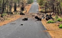 الصورة: الصورة: مقتل 16 جنديا في انفجار قنبلة في الهند